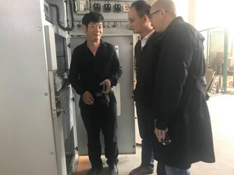 科技处走访泸州宏兴电气有限公司